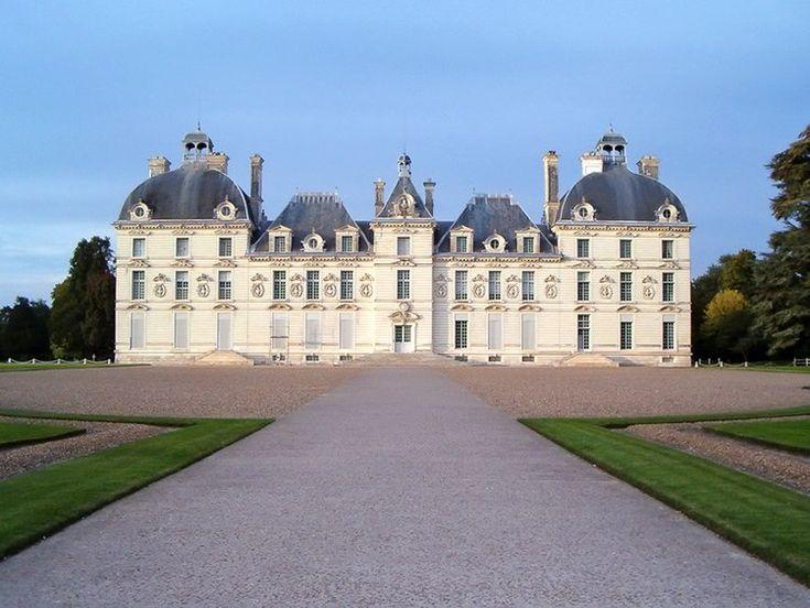Château de Cheverny (ou le château de Tintin - Moulinsart)