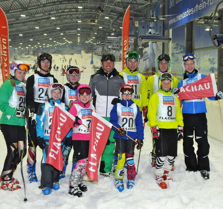 Renntraining mit Hermann Maier in der Skihalle Neuss am 16.11.2013