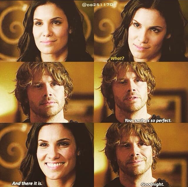 are kensi and deeks dating in real life The pair, who play marty deeks and kensi blye on hit cbs show ncis:  stars  eric christian olsen and daniela ruah reveal real-life heroics.