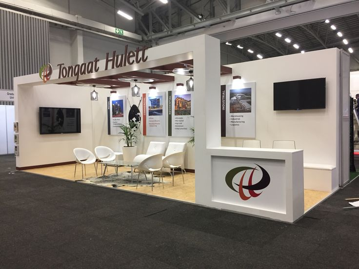Custom exhibition stand for Tongaat Hulett at SAPOA 2017