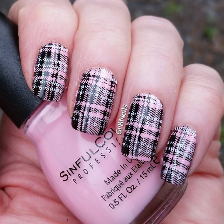 The 25 best plaid nail art ideas on pinterest argyle nails plaid nail art prinsesfo Choice Image