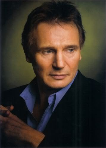 Liam Neeson. FINALLY! Been looking for ages of a picture of him to put on here, he's another of my favorite actors!