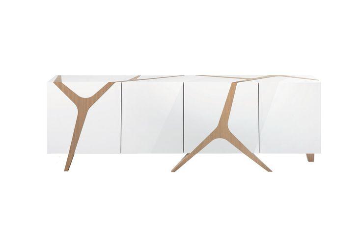 Mangrove buffet - Design by Marco Fumagalli for Roche Bobois // © Roche Bobois