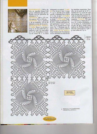 642 besten doilies Bilder auf Pinterest | Häkeldeckchen Diagramm ...