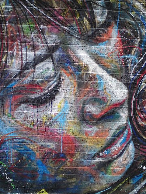 David Walker London Street Art by londonstreetart2, via Flickr