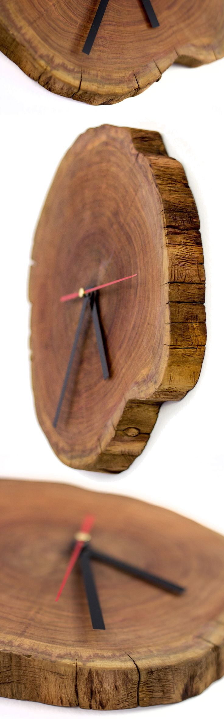 Wooden clock Kitchen Wall Clocks Home Decor Vintage Clock Antique Wall Clocks Mantel Clock Retro Rustic Gift