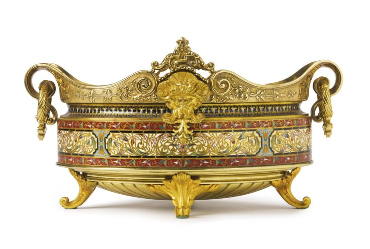491 best images about cachepots jardinieres vintage on for Jardiniere decorative