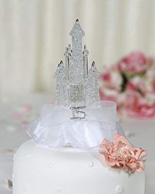 Rhinestone Quinceanera Cinderella Castle Cake Topper Review