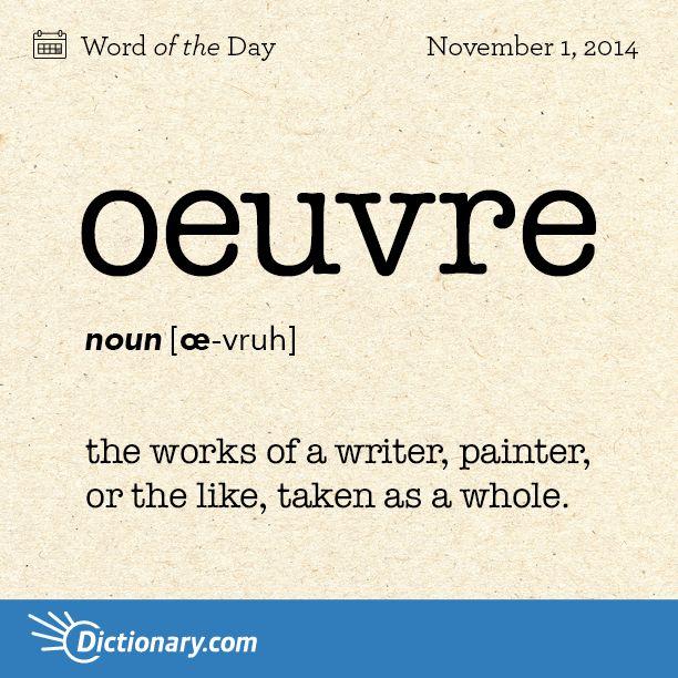defining a word in an essay