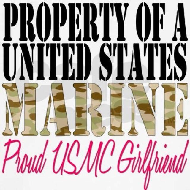 dating a marine girlfriends