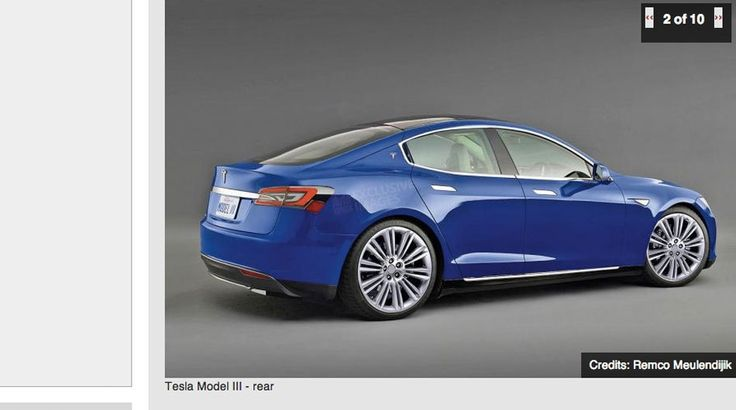Elon Musk has revealed the name and price of Tesla's newest car model: the Tesla Model III.--- Saving up for 2017!