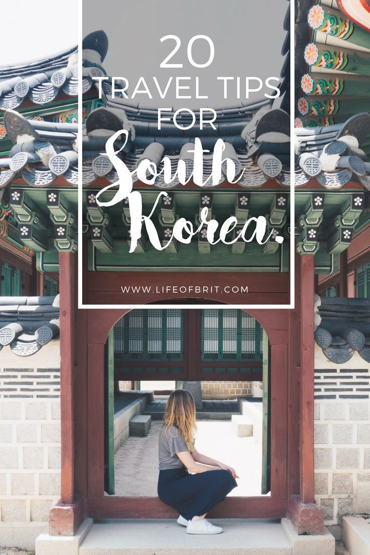 20 Travel Tips for South Korea