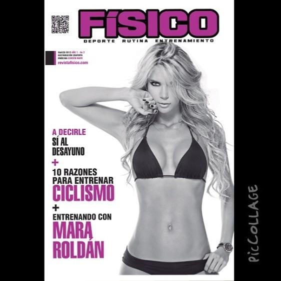 @Maridon Bradley Roldan portada de la revista físico. #Entrenamiento #Ejercicio