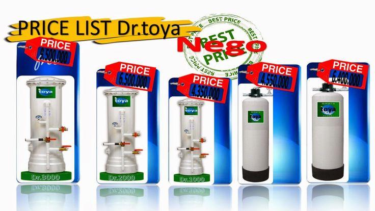 harga filter air murah dan berkualitas dengan jaminan mutu terpercaya www.toyawater.com