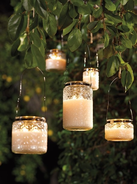 The new Jamaican Sunset Citronella is serene, blissful and enjoyable.  Notes of papaya, citron & hibiscus.  Contains citronella to help repel insects.  For outdoor use only.  Perfect with out Heritage Lantern Wires.  www.evelynwilliams.mygc.com