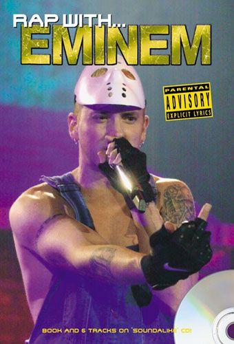 Rap With Eminem - Lyric Book & CD. £8.95