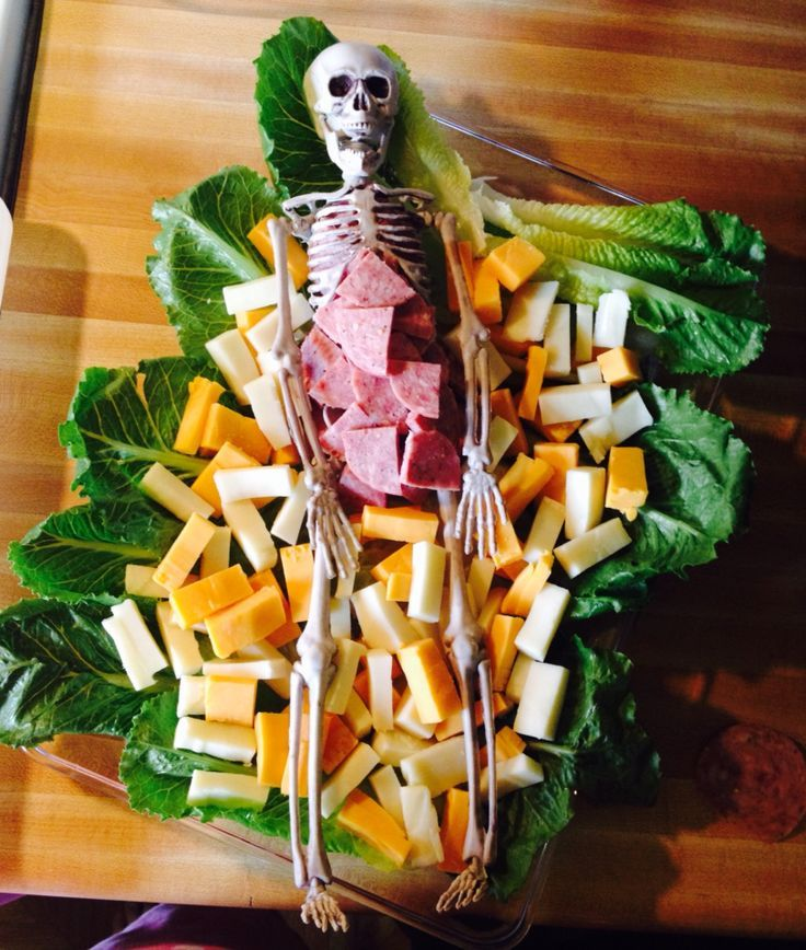 Skeleton Food Tray Google Search Holidays Meat