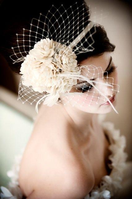 The Bride! Wedding Trends Dress Hair Makeup Headpiece