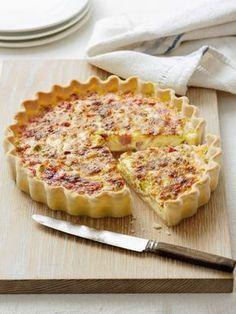 Tradičný francúzsky slaný koláč: Quiche Lorraine