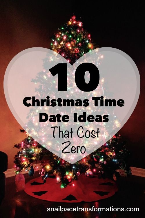 10 Christmas time date ideas that cost zero