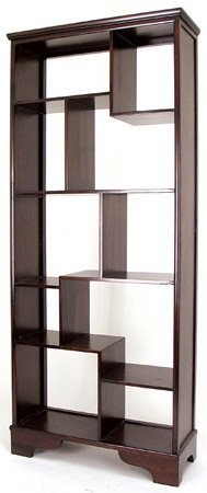 "Unique Japanese Style Asian Furniture - 78"" Asian Design Curio Display Shelf Unit Book Case - Extra Tall 6 and a Half Feet by ORIENTAL FURNITURE, http://www.amazon.com/dp/B002PRC9ZK/ref=cm_sw_r_pi_dp_-p3prb0K2ZWPD"