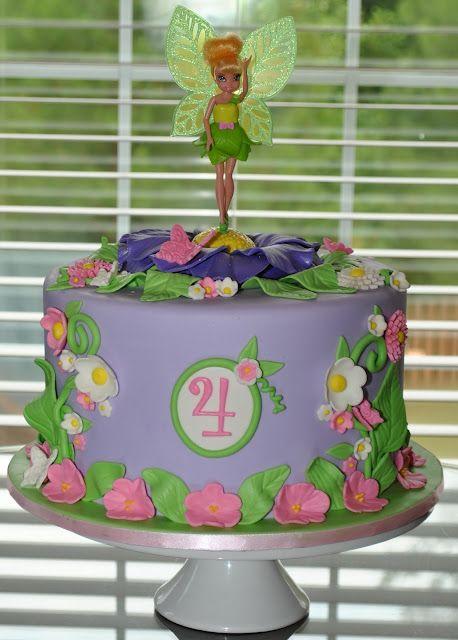 Hope's Sweet Cakes-Tinkerbell Cake
