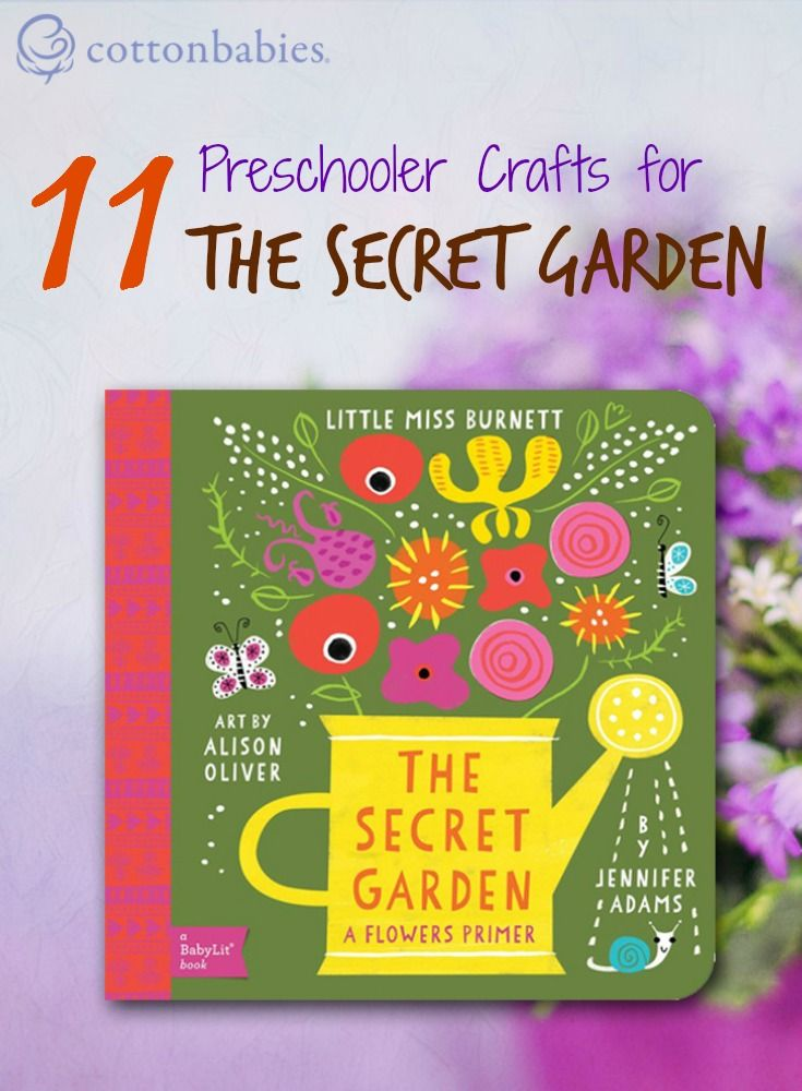 11 Preschooler Crafts for The Secret Garden