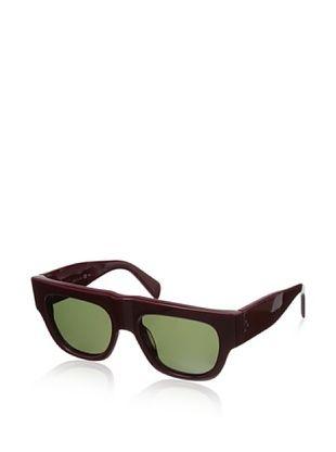 67% OFF Celine Women's CL41037 Sunglasses, Opal/Burgundy