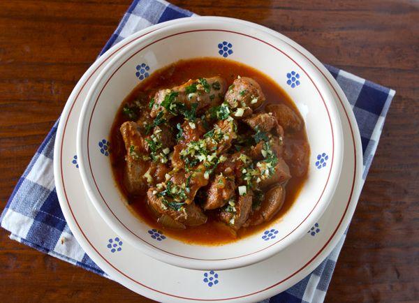 Wild Boar Stew – Spezzatino di Cinghiale