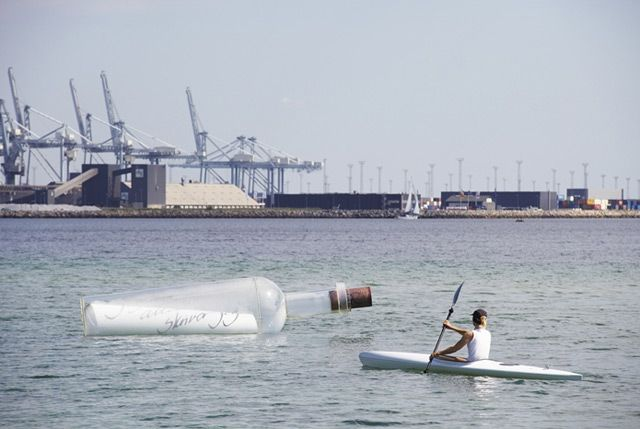 Highlights from Sculpture by the Sea 2013 in Aarhus, Denmark.... One was made by Vibeke Noergaard Roensbo / Remind