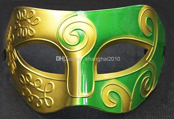 мужские высекая цветок маски хэллоуин маскарад маски венецианские маски танцевальная вечеринка мужчин маска 100шт в категории маска для вечеринки