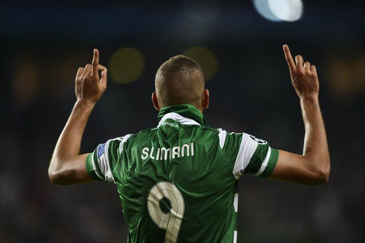 @Sporting Islam Slimani #9ine