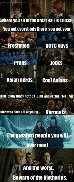 its just fits so well: Potter Ahhh, Hogwarts, Mean Girls Harry Potter, Girls Generation, Mean Girls Quotes, Favorite Movies, Just Nerd Girls Things, Harry Potter Schools, Girls Hp