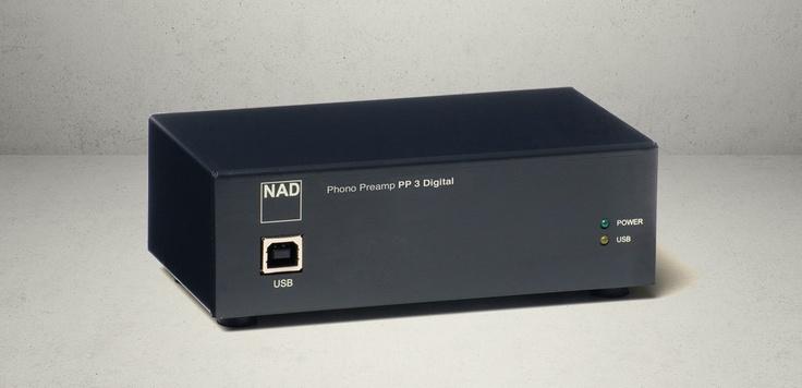 NAD PP3 RIAA Forforsterker | Hi-Fi Klubben