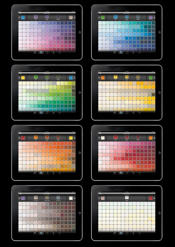 Behr ColorSmart App by Shane Mielke, via Behance