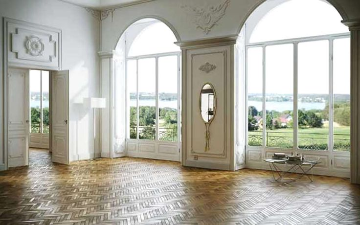 [Wow! What a beautiful hall!!! And stunning view outside...] flooring