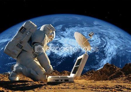 astronauta — Obraz stockowy #66921447