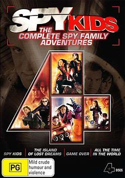 Spy Kids-The Complete Spy Family Adventures.......................