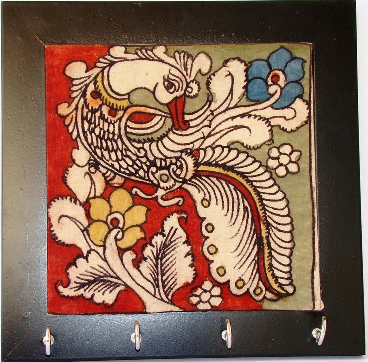 http://www.afday.com/collections/home-decor/products/kalamkari-wall-hook  Rs 400