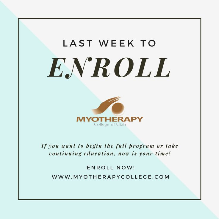Start a successful #career in #massage with us. Enroll Today for 2016! http://myotherapycollege.com/