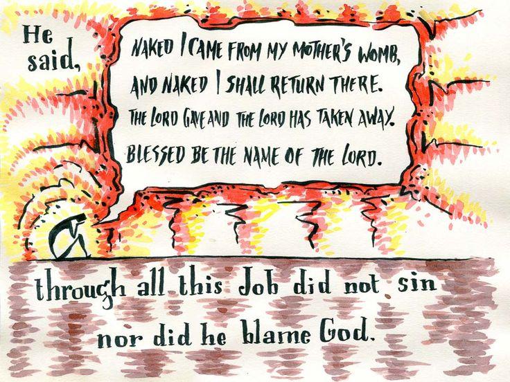 Job faith under fire Overview Bible Job bible verse