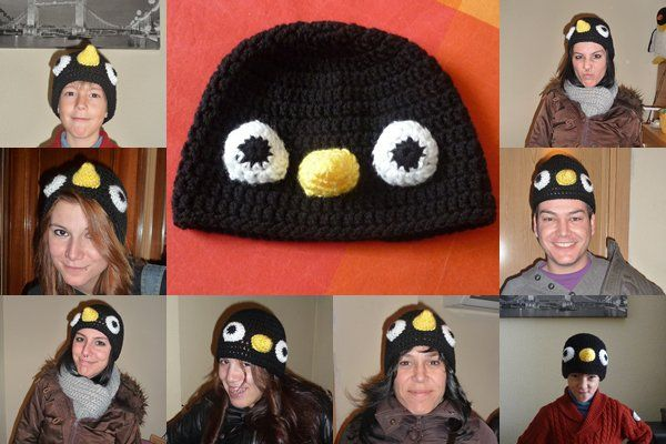 Gorro pingüino