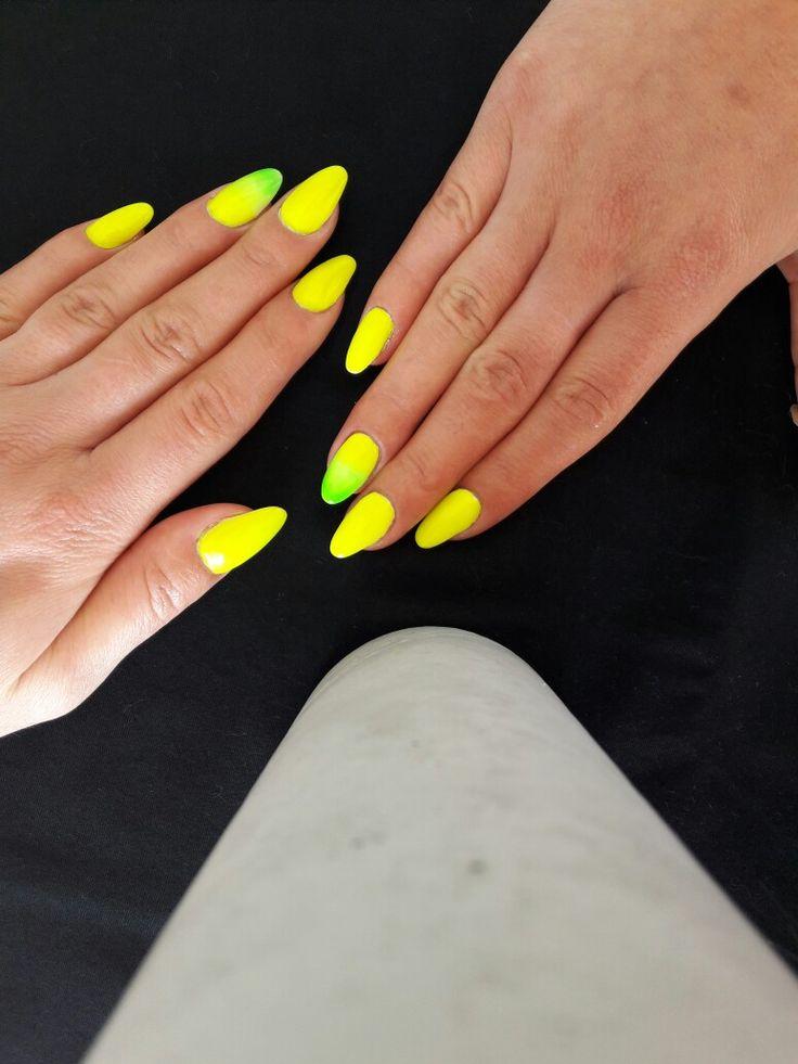 25 Best Ideas About Neon Yellow Nails On Pinterest Neon