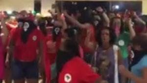 Galdino Saquarema Noticia: Manifestantes invadem Globo de Goiás