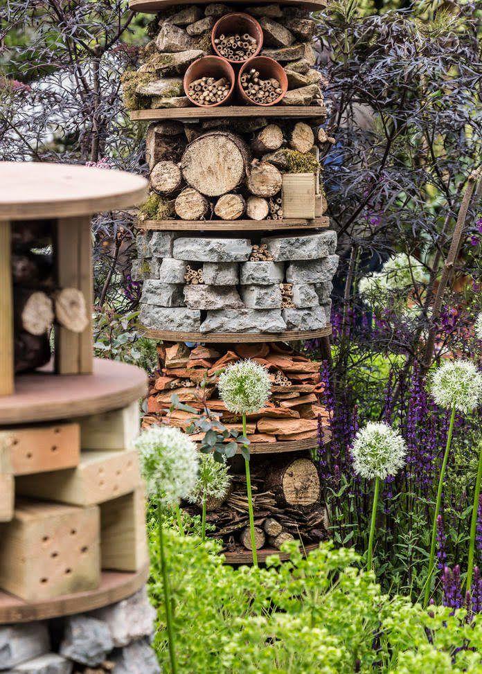 Epic Insektenhotel Gartengestaltung IdeenGarten