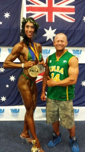 Team Flexr6 sponsored competitor Rose Blacks is the 2014 PNBA Physique Olympia Champion!