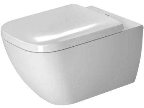 <p>   Duravit 222209 Happy D.2 14-3/8 x 21-1/4 Inch Rimless Wall-Mounted Toilet, Bowl Only</p>
