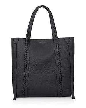 ALLSAINTS RAY LEATHER TOTE. #allsaints #bags #leather #hand bags #tote #