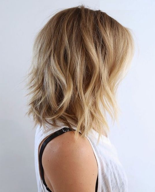 Outstanding 1000 Ideas About Medium Hairstyles On Pinterest Hair Colors Short Hairstyles Gunalazisus