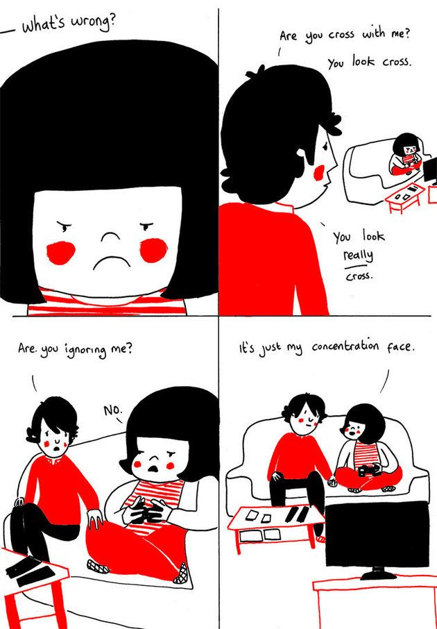 Best SMILE Happy Comic Strips Images On Pinterest Comic - Cute illustrations demonstrate what true love really is